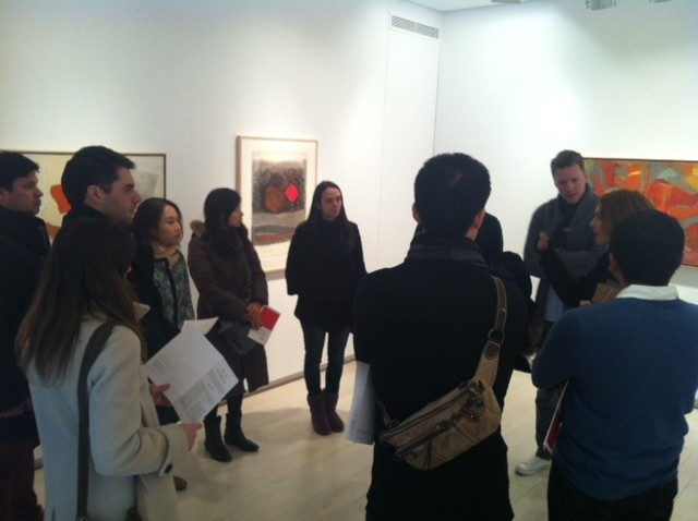 Gallery Tour in Madrid