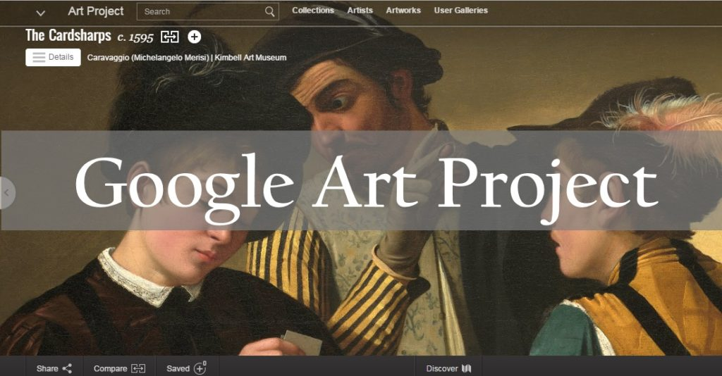 Using Google Art Project to Influence Critical Thinking