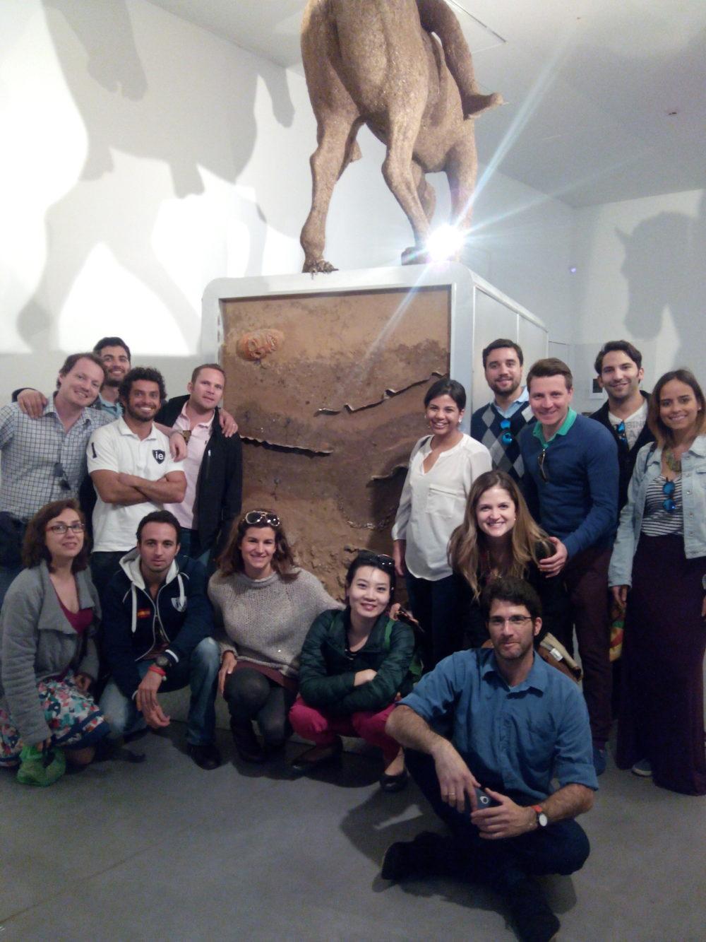 VentureLab visit to Petach Tikva Museum of Art