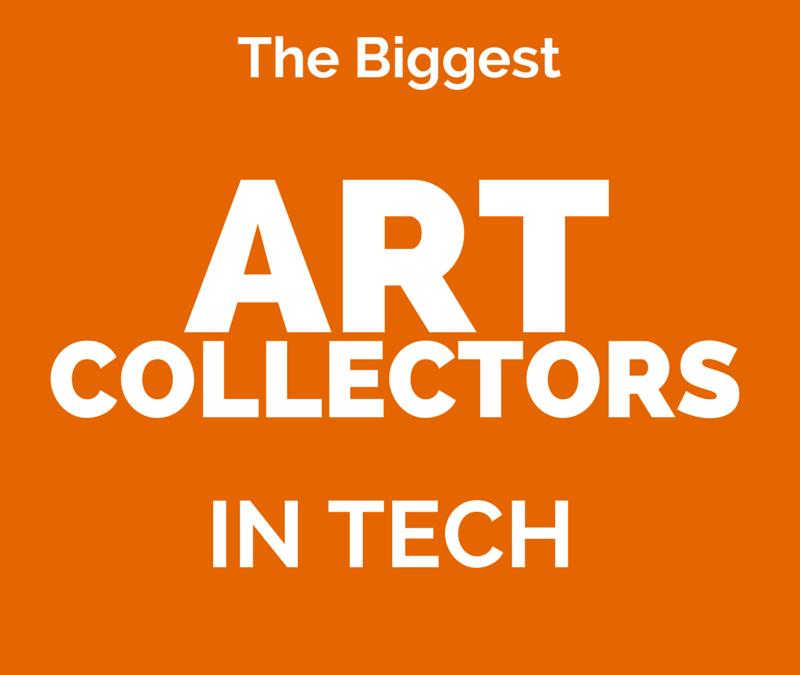 The Biggest Art Collectors in Tech