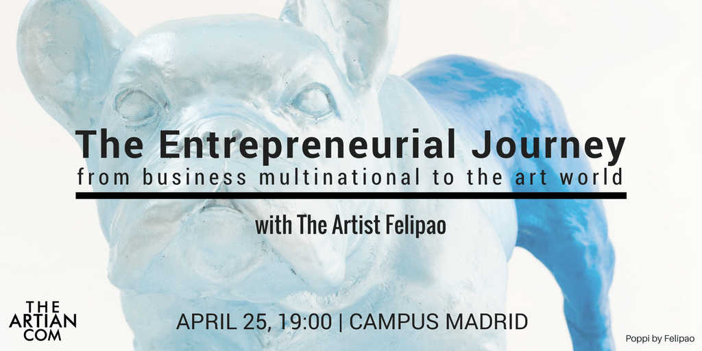 The Entrepreneurial Journey – From Multinational to The Art World