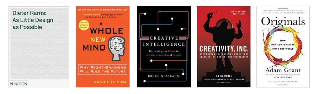 Recommended Books on The Intersection of Art, Business and Creativity