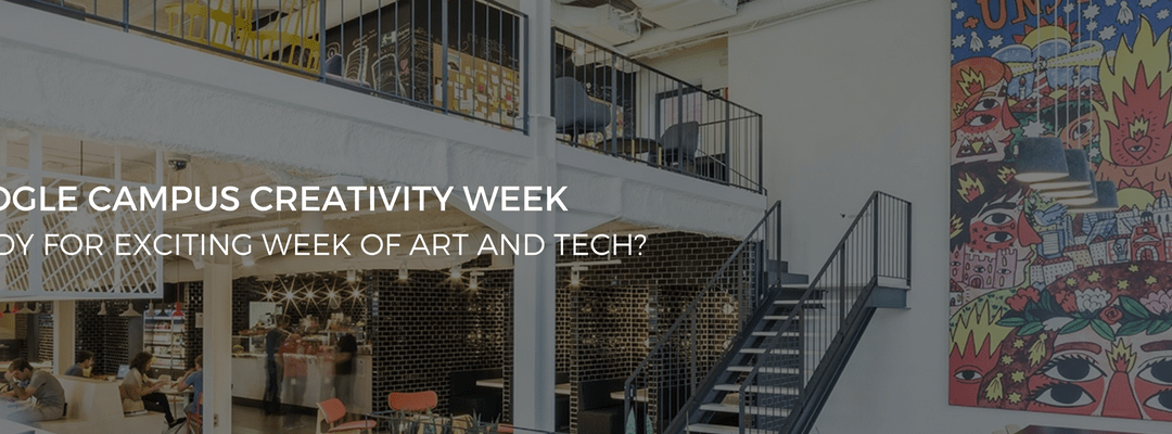 Google Creativity Week in partnership with The Artian and Gaudi Foundation