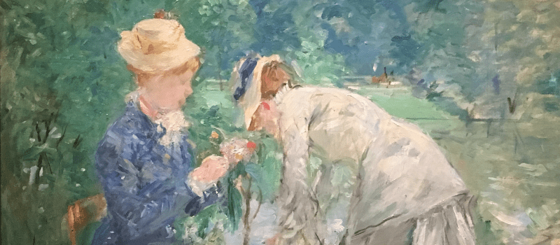 Berthe Morisot, Angel of the Incomplete