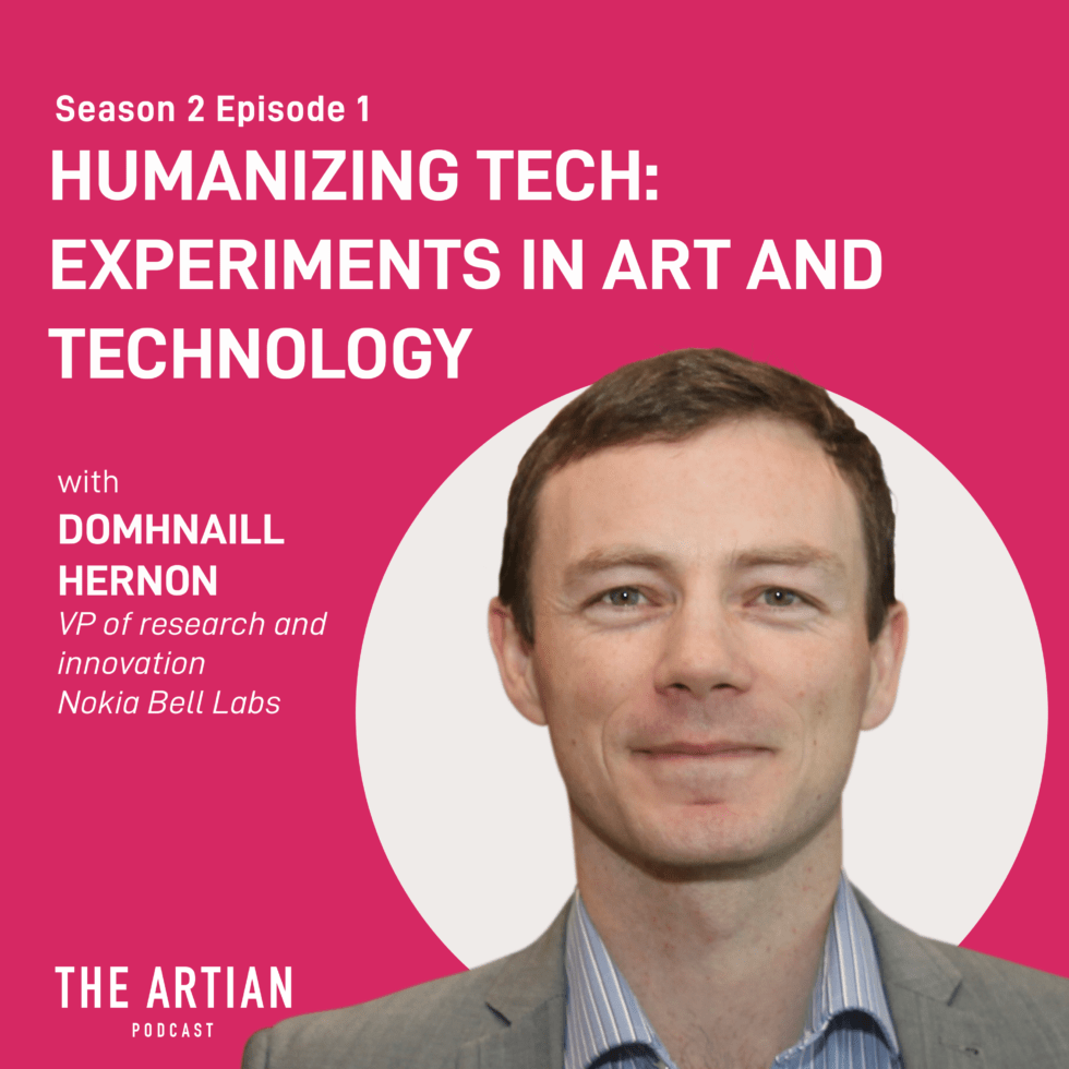 episode 1 – humanizing tech: experiments in arts and technology | Domhnaill Hernon