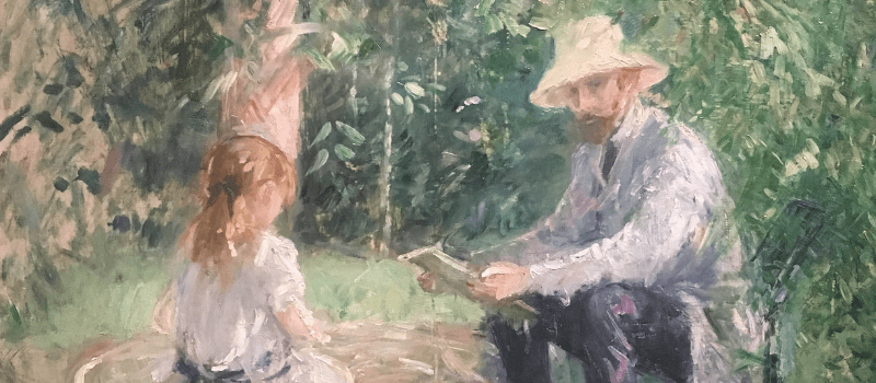Morisot, Father Daughter