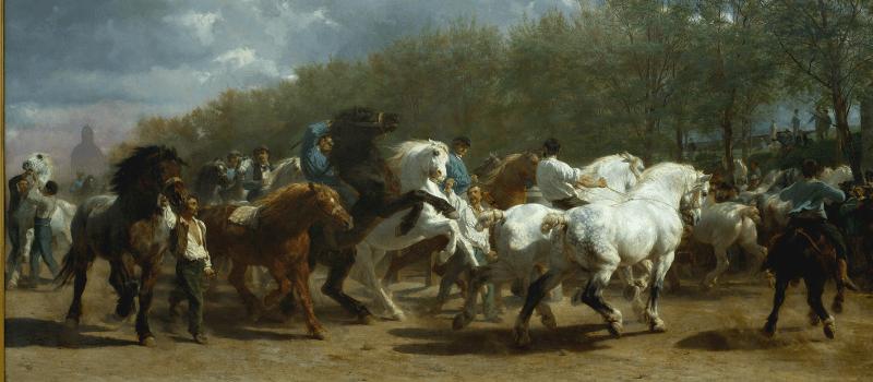 Rosa Bonheur, The Horse Fair, 19th Century
