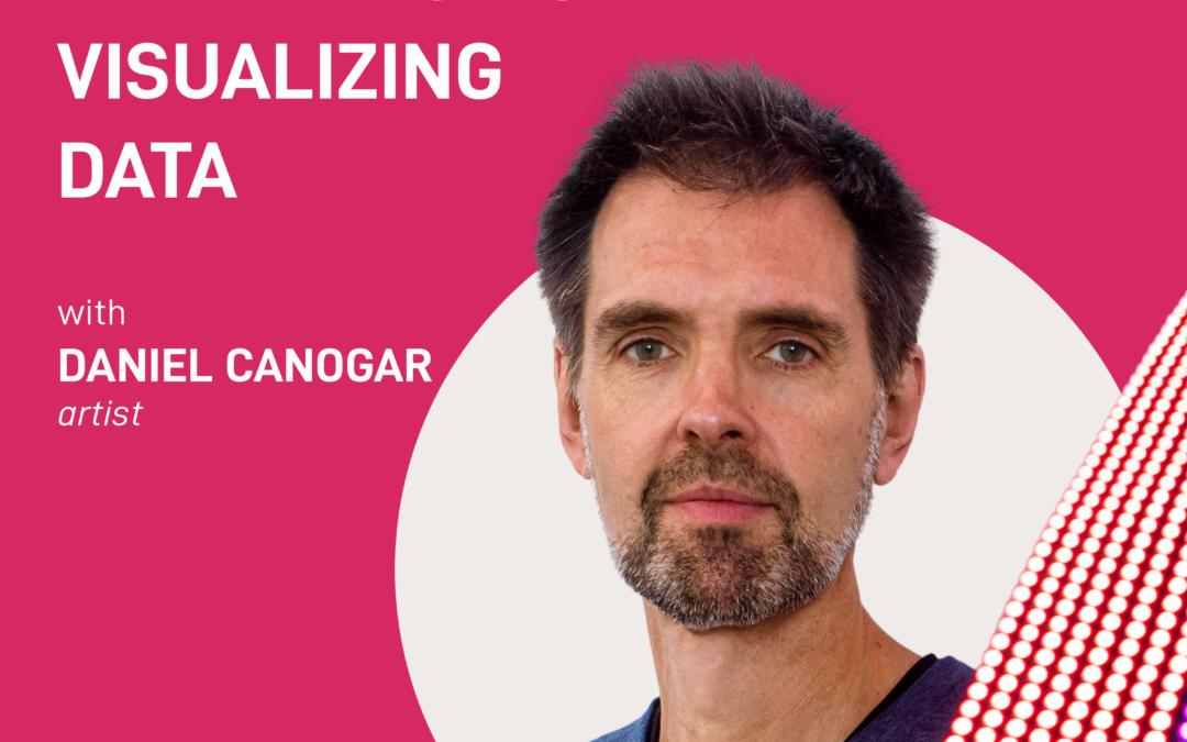 season 2 episode 10 – experiencing versus visualizing data | Daniel Canogar
