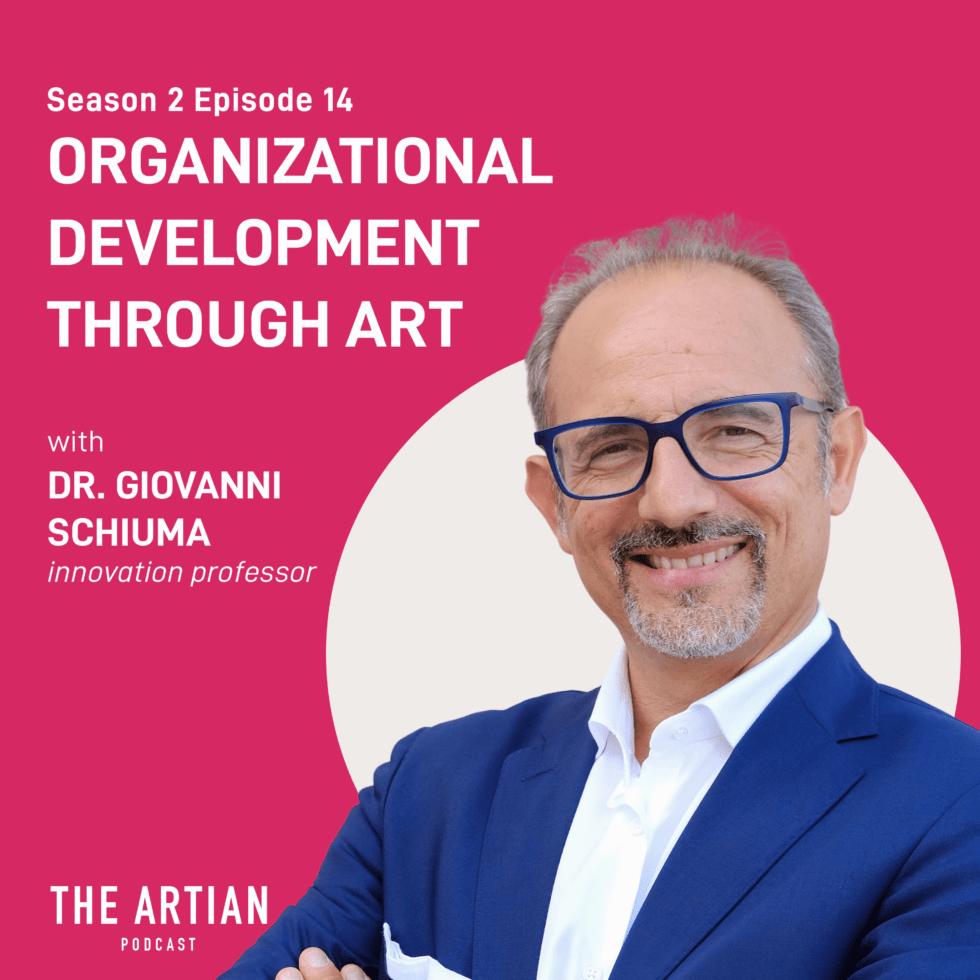 season 2 episode 14 – organizational development through art | Dr. Giovanni Schiuma