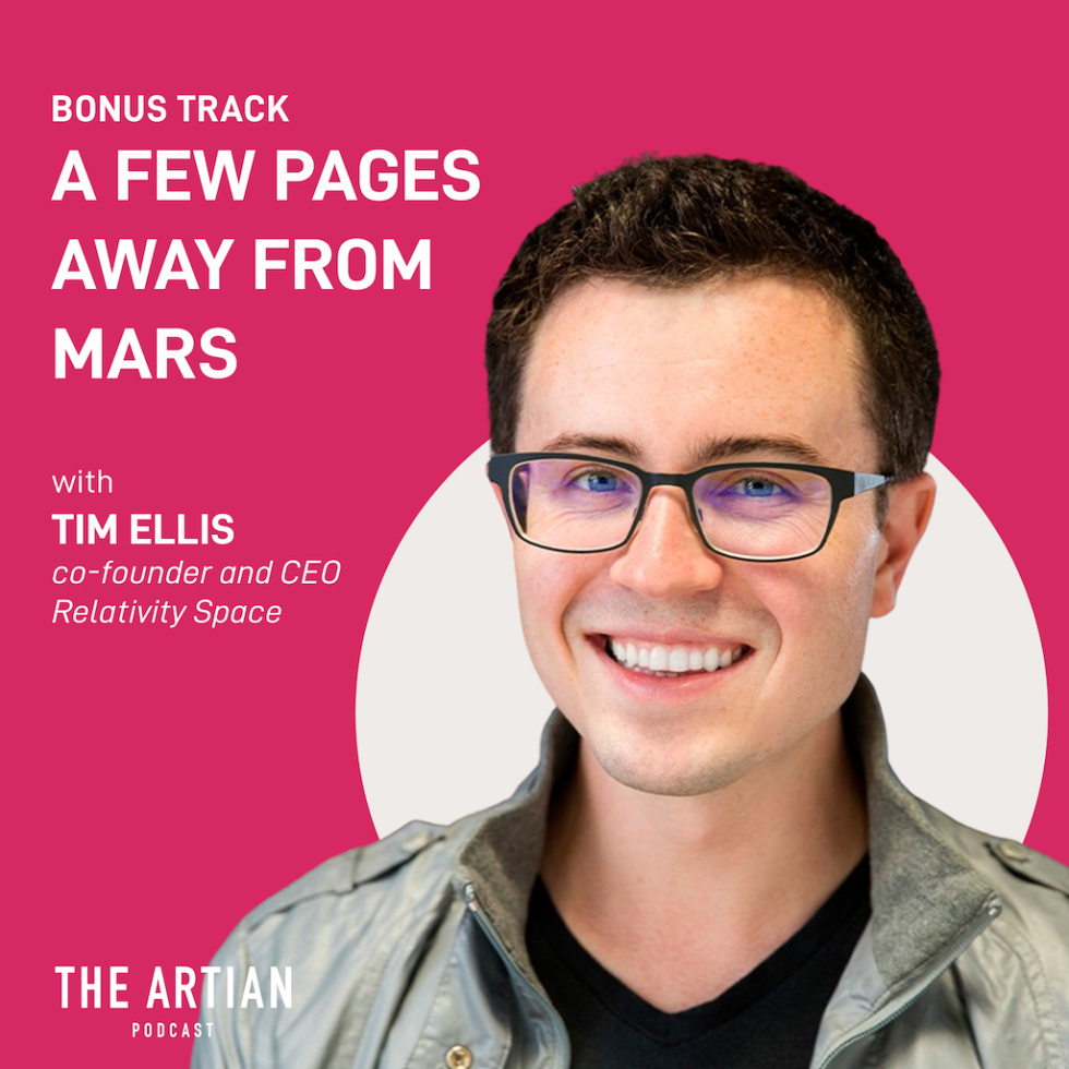 bonus episode – A few pages away from Mars | Tim Ellis
