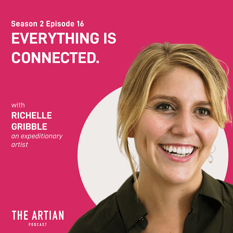 season 2 episode 16 – everything is connected   Richelle Gribble